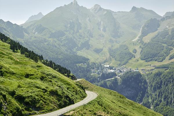 Col du Tourmalet en Col d'Aubisque